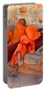 Novice Buddhist Monks Portable Battery Charger