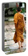 Novice Monk Of Chedi Luang Portable Battery Charger