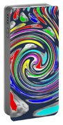 Novino Signature Art Walking Fine Lines Twirl Background Designs  And Color Tones N Color Shades Ava Portable Battery Charger