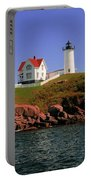 Nubble Lighthouse-cape Neddick Portable Battery Charger