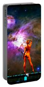 Nude Amongst The Stars 3... Portable Battery Charger