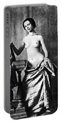 Nude And Curtains, C1850 Portable Battery Charger