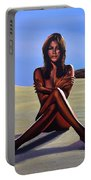 Nude Beach Beauty Portable Battery Charger