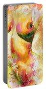 Nude Details - Digital Vibrant Color Version Portable Battery Charger