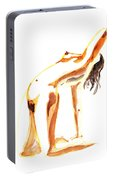Nude Model Gesture IIi Portable Battery Charger