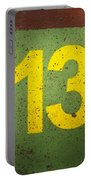Number 13 Portable Battery Charger