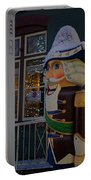 Nutcracker Statue In Downtown Grants Pass Portable Battery Charger