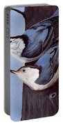 Nuthatch Pair Portable Battery Charger
