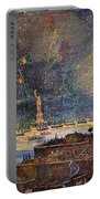 Ny: Statue Of Liberty, 1886 Portable Battery Charger