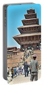 Nyatapola-tallest Pagoda In Nepal-in  Portable Battery Charger