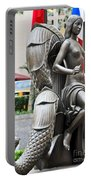 Nyc - Manhattan - Rockefeller Center - First Human Maiden Made F Portable Battery Charger