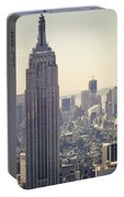 Nyc - Empire State Building Portable Battery Charger