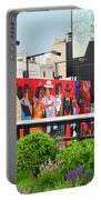 Nyc-high Line Billboard Art Portable Battery Charger