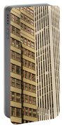Nyc Highrises Portable Battery Charger
