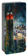 Nyc In Fourth Of July Independence Day Portable Battery Charger