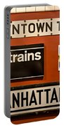 Nyc Subway Signs Portable Battery Charger