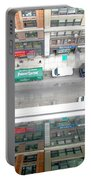 Nyc Urban Reflection Portable Battery Charger