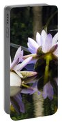 Nymphaea Colorata. Water Lilies Portable Battery Charger