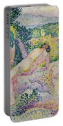 Nymphs Portable Battery Charger by Henri Edmond Cross