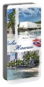 Oahu Postcard 2 Portable Battery Charger