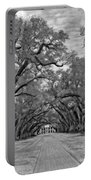 Oak Alley 3 Monochrome Portable Battery Charger