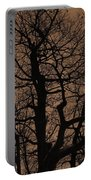 Oak Silhouette  Portable Battery Charger