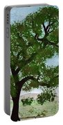 Oak Tree Landscape Portable Battery Charger