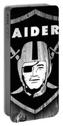 Oakland Raiders Barn Door Portable Battery Charger