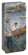 Oarsmen At Chatou Portable Battery Charger