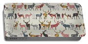 Oatmeal Spice Deer Portable Battery Charger