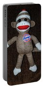 Obama Sock Monkey Portable Battery Charger