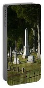 Obelisk And Headstones Portable Battery Charger