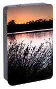 Obidos Lagoon Sunrise Portable Battery Charger