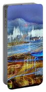 Ocean City Maryland At Night - Blue Portable Battery Charger