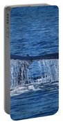 Ocean Dive Of The Humpback Whale Portable Battery Charger