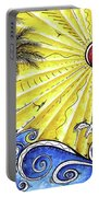 Ocean Fury By Madart Portable Battery Charger