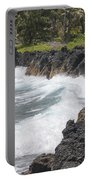 Ocean White Water Portable Battery Charger
