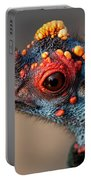 Ocellated Turkey Portrait Portable Battery Charger