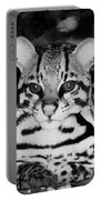 Ocelot In Repose Portable Battery Charger