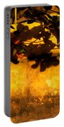 Ochre Wall Silk Lantern 01 Portable Battery Charger