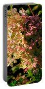October Hydrangea Portable Battery Charger