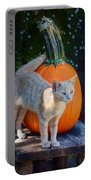 October Kitten #1 Portable Battery Charger