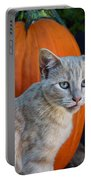 October Kitten #3 Portable Battery Charger