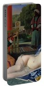 Odalisque With Slave Portable Battery Charger by Ingres