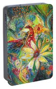 Ode To My Flowers Portable Battery Charger