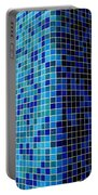 Ode To Steve S.   Corner In Blue Portable Battery Charger