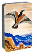 Odyssey Illustration  Bird Of Potent Portable Battery Charger