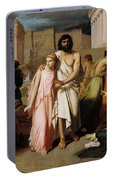 Oedipus And Antigone Or The Plague Of Thebes  Portable Battery Charger