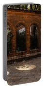 Of Courtyards And Elegant Arches  Portable Battery Charger