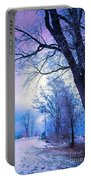 Of Dreams And Winter Portable Battery Charger